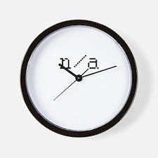 n/a Wall Clock
