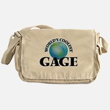 World's Coolest Gage Messenger Bag