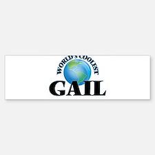 World's Coolest Gail Bumper Bumper Bumper Sticker