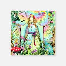 """Gaia - Goddess of Earth Square Sticker 3"""" x 3"""""""
