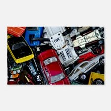 Vintage Toy Trucks And Cars Area Rug