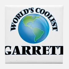 World's Coolest Garrett Tile Coaster