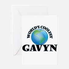 World's Coolest Gavyn Greeting Cards