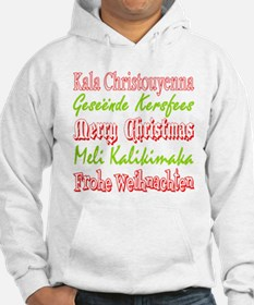 Merry Christmas Around The World 4 Jumper Hoody