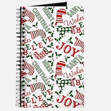 merry christmas joy Journal