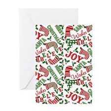 merry christmas joy Greeting Card