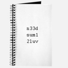 n33d sum1 2luv - need someone to love Journal