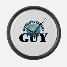 World's Coolest Guy Large Wall Clock