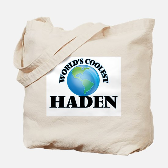 World's Coolest Haden Tote Bag