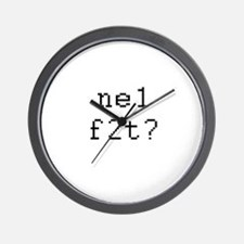 Text Messaging Wall Clock