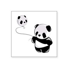Panda With Balloon Sticker