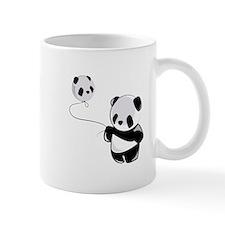 Panda With Balloon Mugs