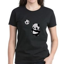 Panda With Balloon T-Shirt