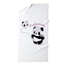 Pandamonium Beach Towel