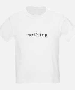 nething - anything T-Shirt