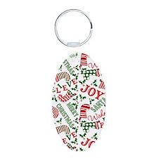 merry christmas joy Keychains