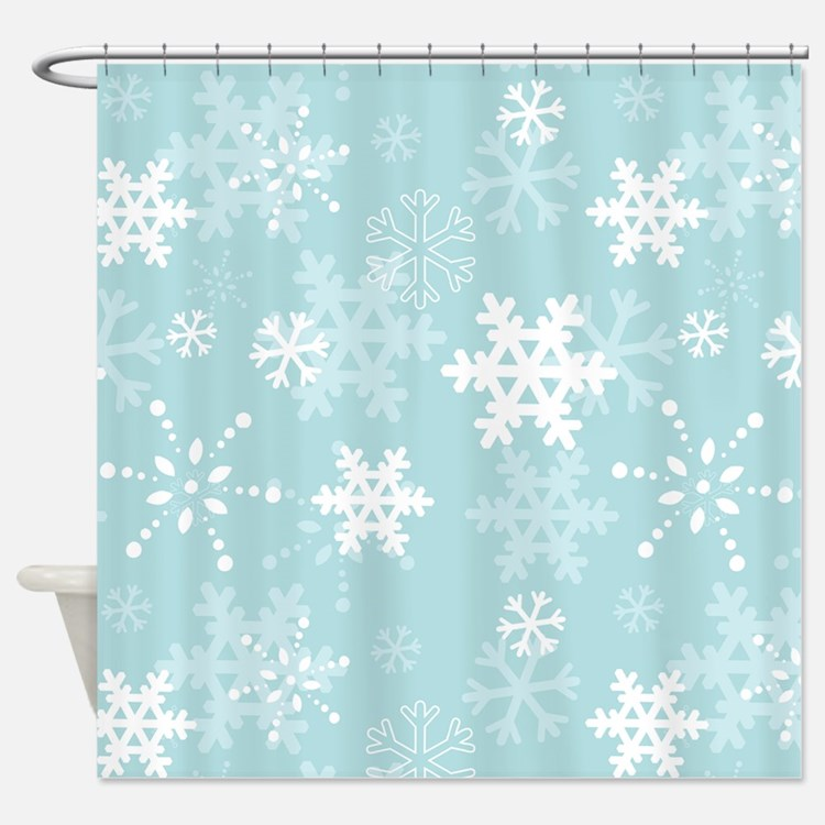 Christmas Pattern Shower Curtains