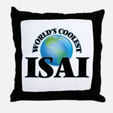 World's Coolest Isai Throw Pillow