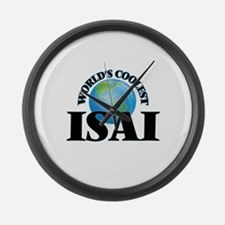 World's Coolest Isai Large Wall Clock