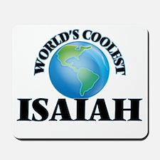 World's Coolest Isaiah Mousepad