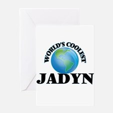 World's Coolest Jadyn Greeting Cards