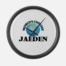 World's Coolest Jaeden Large Wall Clock