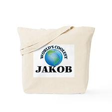 World's Coolest Jakob Tote Bag