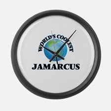 World's Coolest Jamarcus Large Wall Clock