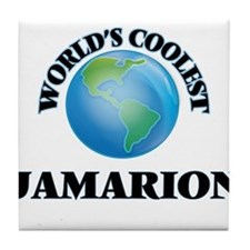 World's Coolest Jamarion Tile Coaster