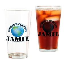World's Coolest Jamel Drinking Glass