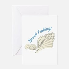 Beach Findings Greeting Cards
