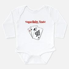 Vegas baby Long Sleeve Infant Bodysuit
