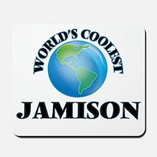 World's Coolest Jamison Mousepad
