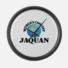 World's Coolest Jaquan Large Wall Clock