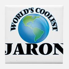 World's Coolest Jaron Tile Coaster