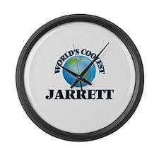 World's Coolest Jarrett Large Wall Clock