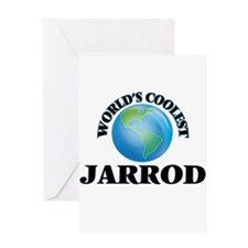 World's Coolest Jarrod Greeting Cards