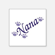 Nana With Paws Sticker