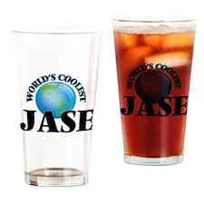 World's Coolest Jase Drinking Glass