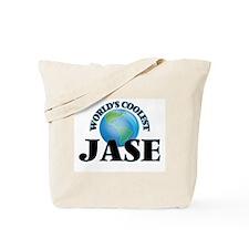 World's Coolest Jase Tote Bag