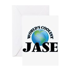 World's Coolest Jase Greeting Cards