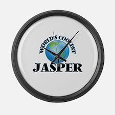 World's Coolest Jasper Large Wall Clock