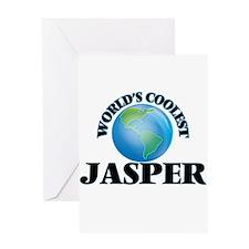 World's Coolest Jasper Greeting Cards