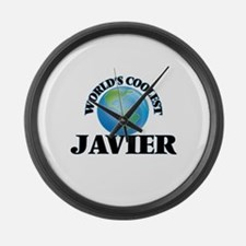 World's Coolest Javier Large Wall Clock