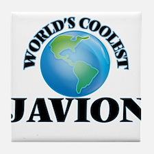 World's Coolest Javion Tile Coaster