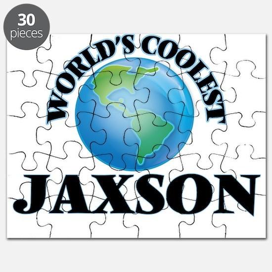 World's Coolest Jaxson Puzzle