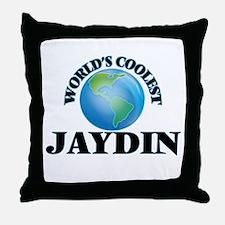 World's Coolest Jaydin Throw Pillow