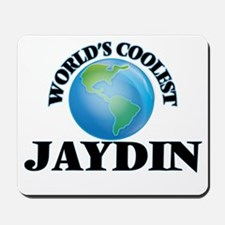 World's Coolest Jaydin Mousepad