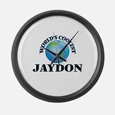 World's Coolest Jaydon Large Wall Clock