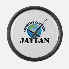 World's Coolest Jaylan Large Wall Clock